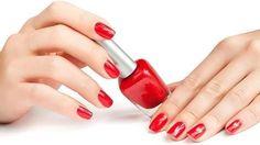 Healthy Nail Salon Program - Consumer Protection Division - County the nail polish lounge - Nail Polish Nail Polish Bottles, Red Nail Polish, Red Manicure, Red Nails, Gel Semi Permanent, Summer Beauty Tips, Basic Nails, Luxury Nails, Healthy Nails