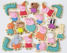 Fiesta de Peppa Pig y ¡nuevo curso de galletas! - Postreadicción