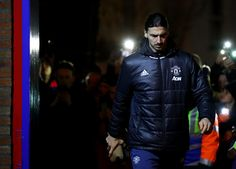 Zlatan Ibrahimovic Photos Photos - Zlatan Ibrahimovic of Manchester United arrives at the stadium prior to the Premier League match between Crystal Palace and Manchester United at Selhurst Park on December 14, 2016 in London, England. - Crystal Palace v Manchester United - Premier League