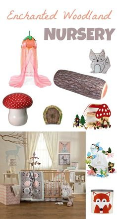 Enchanted woodland Nursery decor, I already started to collect these for my little one