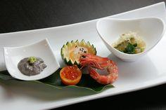 前菜一例  @北浜の日本料理の名店マグノリア