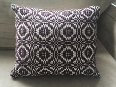 A personal favorite from my Etsy shop https://www.etsy.com/listing/263868855/handwoven-overshot-pillow