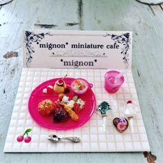 2016, Food mini♡ ♡by Mignon Miniature