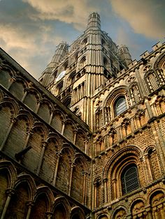 Ely Cathedral, Cambridgeshire, Where my  son Jonathan's High School Graduation was held!