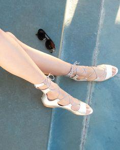 Loeffler Randall Dani Open-Toe Leather Ballerina Flat, Silver
