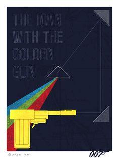 man with the golden gun #bond