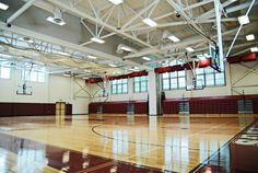 Western Hills High School gym.