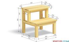 Скамейка-лестница - делаем сами - Вещи, сделанные своими руками, здесь покажем друг другу мы с вами - Форум-Град