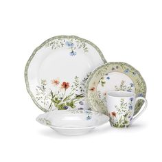 Porcelain dinnerware lends an instant elegance to any meal. Cuisinart offers a variety of beautiful patterns, each dish designed and crafted of the finest quality porcelain.