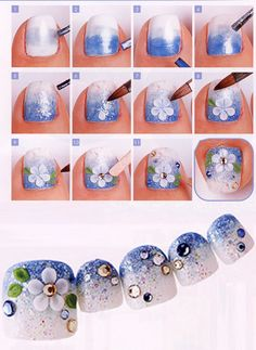 *OCEASIA BEAUTY and NAILS - TOE NAIL ART-*2