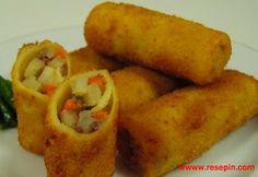 Resep Risoles Kentang - Risoles merupakan salah satu jajanan berjenis pastri yang diberi isian sayuran, ataupun daging asap, riseles ini ber...