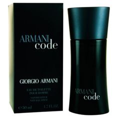 Blended for the modern man, Armani Code for men by Giorgio Armani features a citron cocktail of bergamot and lemon with olive tree blossom.
