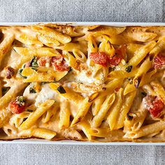 Al Forno's Penne with Tomato, Cream, and Five Cheeses recipe on Food52
