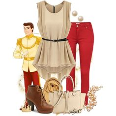 """Prince Charming - Disney's Cinderella"" by rubytyra on Polyvore"