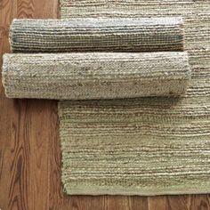 Jute with Chenille Natural Fiber Rug   Ballard Designs. Jute Rug mixed w chenille to make softer! Genius !
