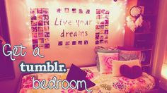 DIY Tumblr inspired room decor ideas! Cheap & easy projects