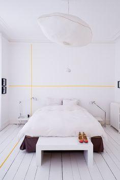 Cambia el estilo de tu habitación con washi-tape | Decorar tu casa es facilisimo.com