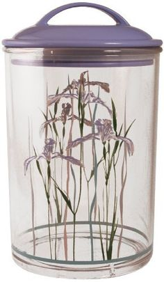 Corelle Coordinates Canister, Shadow Iris, Medium by Reston Lloyd, Ltd.. $10.00. BPA Free so it is does not have harsh chemicals. A great gift idea. Purple lid is air tight. Clear Acrylic canister with pattern, holds 5.5 cups. Use in any kitchen. Reston Lloyd is a leading manufacturer and distributor of kitchenware, specializing in enamel on steel products. For nearly 30 years, we have been dedicated to providing the highest quality products, with an equal emphas...