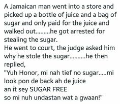 Jamaican sex jokes