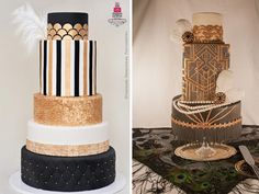 images of wedding cakes art deco Gatsby designs - Google Search