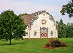 Bavarian style barn in Frankenmuth, MI