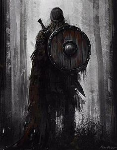 Solemn warrior