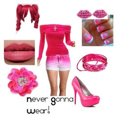 """Never Gonna Wear!"" by wolves-1999 ❤ liked on Polyvore featuring Lulu Guinness, Juicy Couture, Veda Soul, Chamak by Priya Kakkar, Bobbi Brown Cosmetics and Tarina Tarantino"