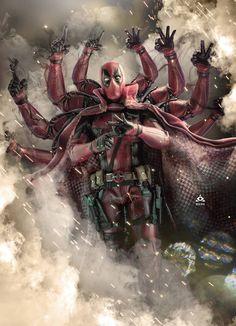 Avengers: Infinity War -Deadpool Anime Zip Up Hoodie Marvel Avengers, Captain Marvel, Marvel Comics, Bd Comics, Funny Comics, Deadpool Art, Deadpool Funny, Marvel Funny, Marvel Memes