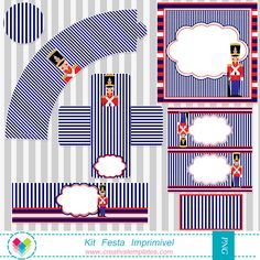 Kit festa Soldadinho de chumbo - Printable party