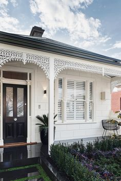 Inside The Albert Park Project - with GlobeWest House Front, My House, Weatherboard House, Queenslander, Architecture Design, Albert Park, Facade House, House Facades, House Exteriors