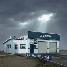 "Saatchi Art Artist Ed Freeman; Photography, ""Oil Changers, Mojave CA – Edition 3 of 9"" #art"