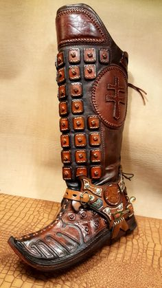 Leather Armor, Monster Hunter, Shoe Boots, Shoes, Leather Working, Alternative Fashion, Hungary, Vikings, Combat Boots