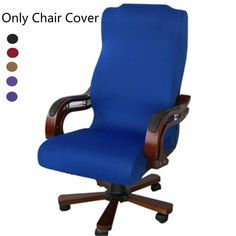 S/M/L Office Computer Chair Cover Side Zipper Design Arm Chair Covers Recouvre Chaise Stretch Cover. - This chair covers with stretched can fit computer office swivel chair. 1 x Chair Cover (Chair is not included). Best Office Chair, Swivel Office Chair, Office Chairs, Desk Chair, Office Desk, Stretch Chair Covers, My New Room, Living Room Chairs, Dining Chairs