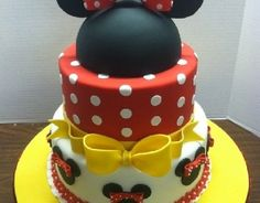 Minnie cake for child's birthday | Handspire [Spanish page content ]