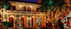 Casa Casuarina in South Beach Versace Mansion Miami, Versace Home, South Beach, Miami Beach, Casa Casuarina, Business Travel, All Over The World, Fair Grounds, Mansions