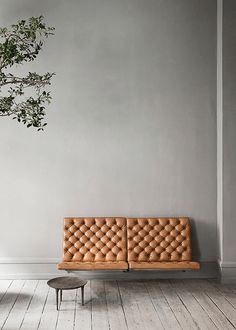 Natural-leather-at-home, PK26 sofa by Fritz hansen- cognac interior trend on ITALIANBARK blog