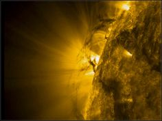 Tornado as big as Earth rages across sun at 300K mph