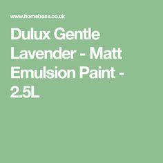 Dulux Gentle Lavender - Matt Emulsion Paint - 2.5L