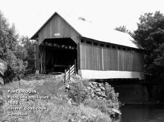 <p>Ce vieux pont couvert a survécu aux tourmentes printanières répétées.</p>