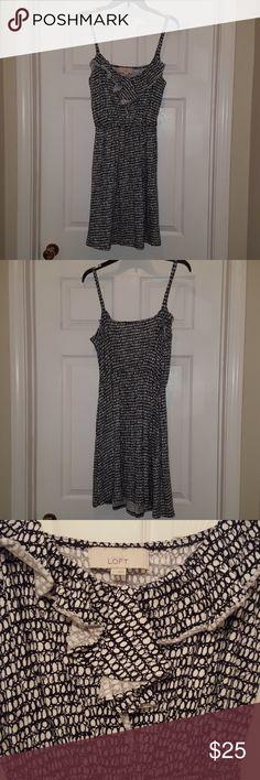Ann Taylor Loft dress Sun dress, spaghetti strap with empire waist. Ann Taylor Dresses