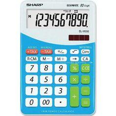 #Sharp #Elsi_Mate #EL_M332B_BL asztali #számológép #10 számjegyes - #Kék - #Számológépek #Sharp_Elsi_Mate #EL_145T_BL - Kék - #asztali_számológép Az asztali számológép mérete: #176_mm x #112_mm x #26_mm. Sharp Elsi Mate #EL_M332B_PK - #Pink - asztali számológép Sharp Elsi Mate #EL_M332B_WH - #Fehér - asztali számológép Az #elem típusa: #LR44 A számjegyek mérete: #17_mm #valuta_számítás #gyökvonás #százalékszámítás #memória Solid Wood Flooring, Custom Made Furniture, Calculator, Digital Marketing, Projects To Try, Entertaining, Aurora, Jars, Audi