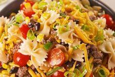Cowboy Pasta Salad Is Basically A Better Taco Salad