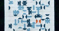 Meadow Mist Designs: Flew Away ++ Mini Quilt Children's Quilts, Flies Away, Quilting, Blanket, Mini, Design, Fat Quarters, Blankets