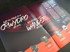 Frontside Studio magazine design for GRAEN http://www.graen.cymru/  Not all those who Wander are lost, North Wales