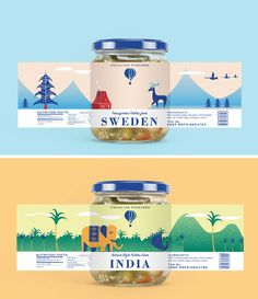 Looking for Top Quality Food Packaging Design Company India? Contact DesignerPeople - One of the best FMCG and Food Package Design Services in Delhi NCR. Cool Packaging, Food Packaging Design, Bottle Packaging, Brand Packaging, Coffee Packaging, Product Packaging Design, Product Branding, Packaging Company, Packaging Services