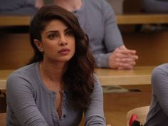 Alex Parrish's Long Sleeve Waffle Henley on Quantico