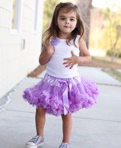 RuffleButts Precious Petti Skirt Lavender-rufflbutts, petti skirt, tutu, candy pink, pink, bright pink, girl, baby, infant, toddler, trendy, baby boutique, birthday, dress up, photo shoots