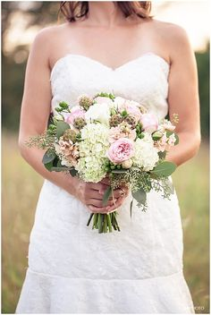 bridal bouquet with eucalyptus | LOVE bouquets with seeded eucalyptus! |