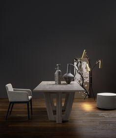 Exklusiver Designer Tisch Adam Von Novamobili Aus Italien. #tisch #esstisch  #novamobili #