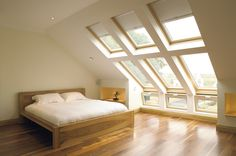 These windows are a must for a loft conversion - add so much light